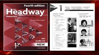 Скачать New Headway Elementary Exercise Book 4th Unit 01