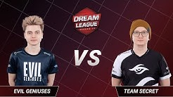 Team Secret vs Evil Geniuses - Game 5 - Grand Final - DreamLeague Season 13 - The Leipzig Major