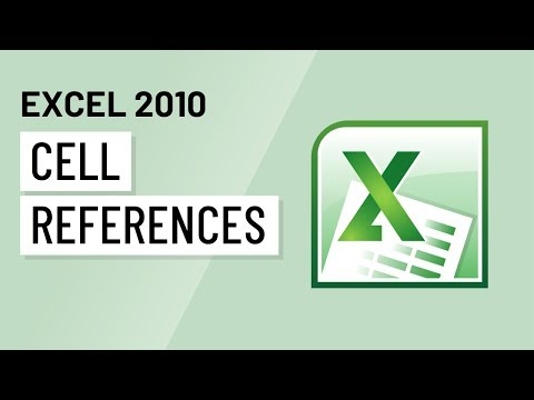 Excel 2010: Cell References