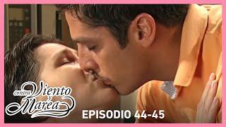 Contra viento y marea: ¡Regina se besa con Renato! | Resumen C44-45 | tlnovelas