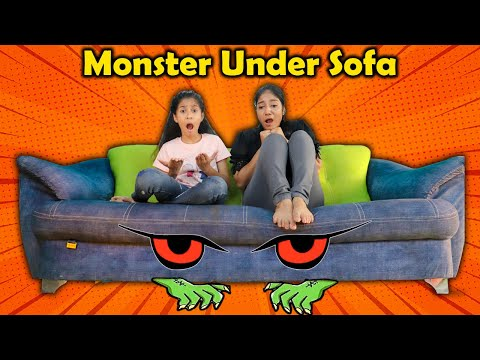 Monster Under Pari's  Sofa | Funny Story | Pari's Lifestyle