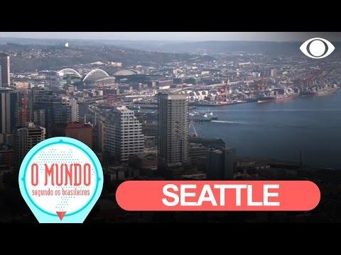 O Mundo Segundo Os Brasileiros: Seattle - Parte 1