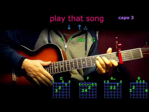 play that song train guitar chords