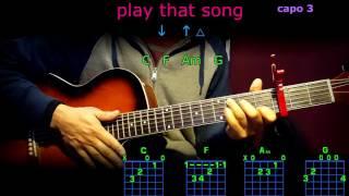 play that song train guitar chords