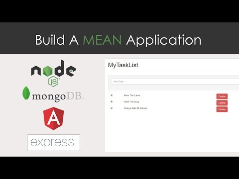 MEAN App From Scratch - MongoDB, Express, Angular 2 & NodeJS
