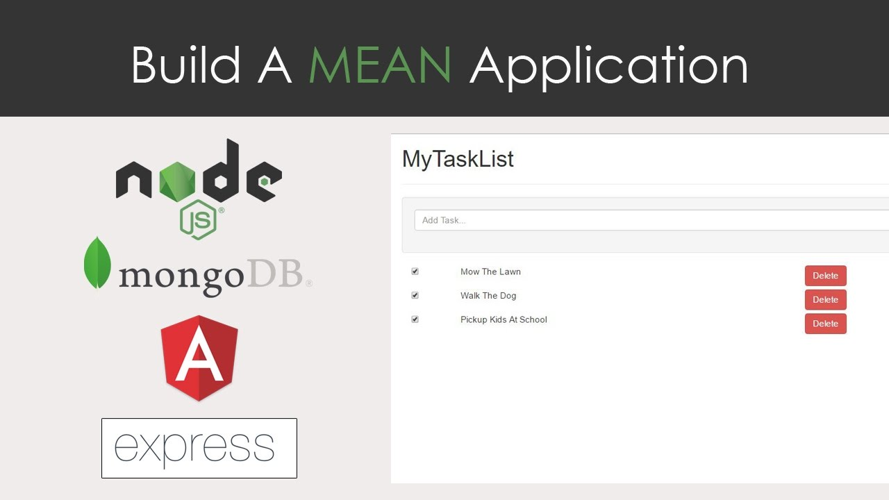 mean app from scratch mongodb express angular 2 nodejs youtube