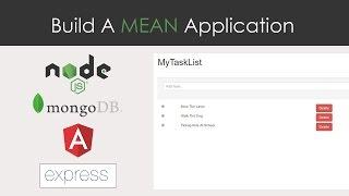 MEAN App From Scratch - MongoDB, Express, Angular 2 & NodeJS