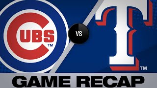 Baez crushes 2 homers in Cubs' 12-4 win - 3/28/19