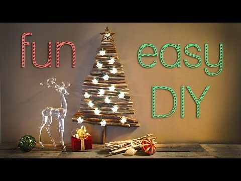 Christmas Decorations - Creative Christmas Tree for Small Apartments