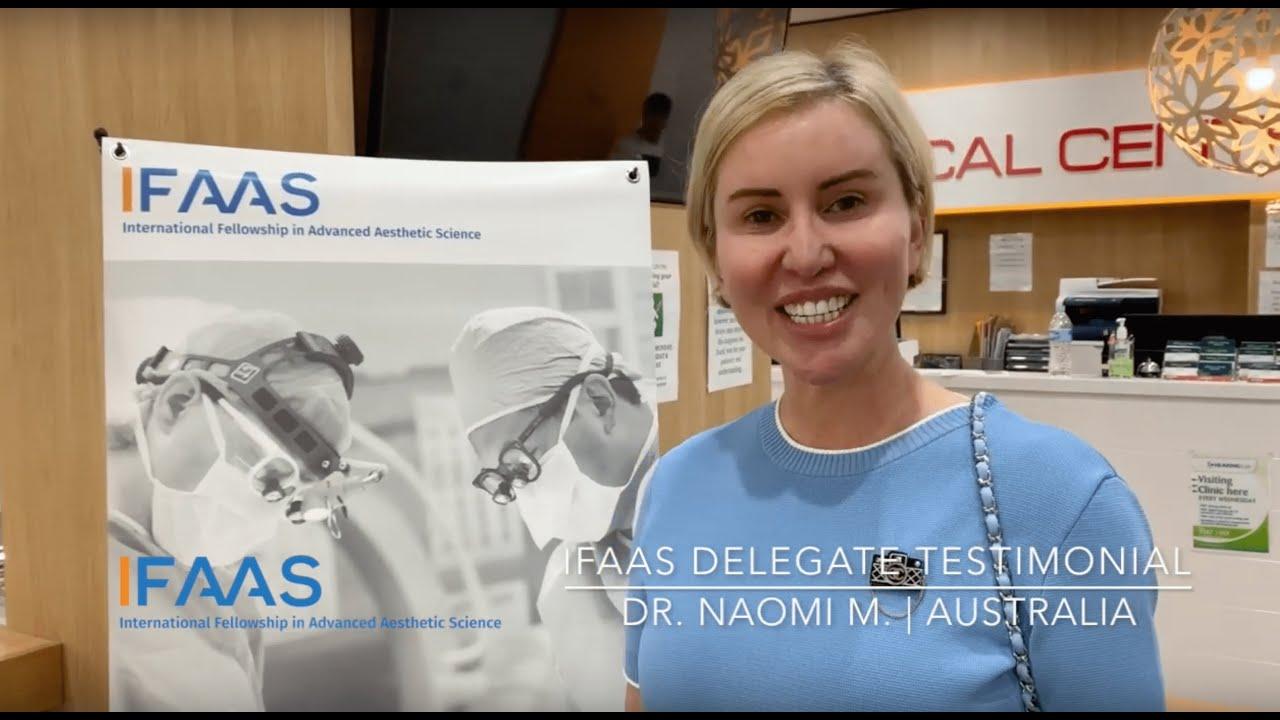 IFAAS Delegate Testimonial - Dr. Naomi M. | Australia