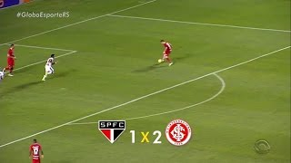 São Paulo 1x2 INTERNACIONAL - Brasileirão 2016 - 2ª Rodada