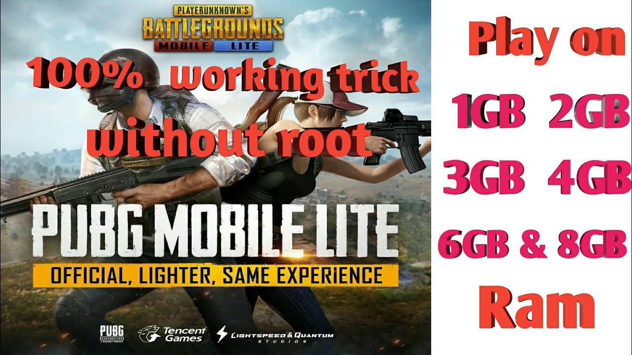Download How to Play PUBG Lite on 1GB/2GB/3GB/4GB/6GB/8GB R