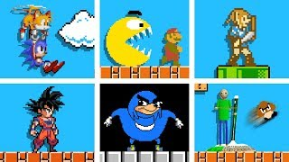 Famous OP characters in Super Mario Bros. (Official series) Season 3