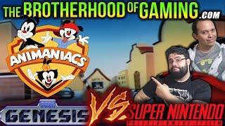 Animaniacs // SEGA vs SNES // The Brotherhood of Gaming