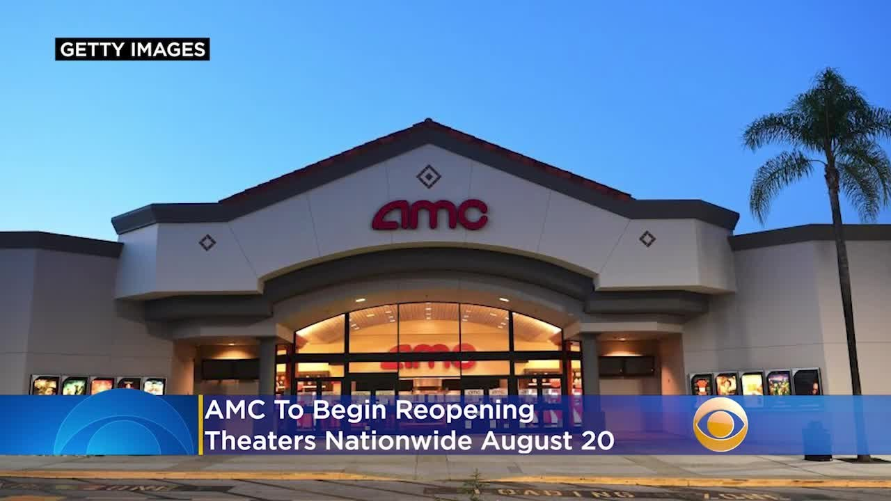 AMC will offer 15-cent tickets when it reopens 100+ US theaters on ...