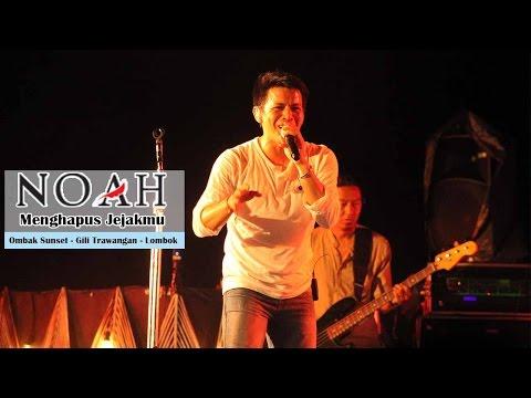 'Sunset Concert' NOAH - Menghapus Jejakmu | Ombak Sunset - Gili Trawangan - Lombok