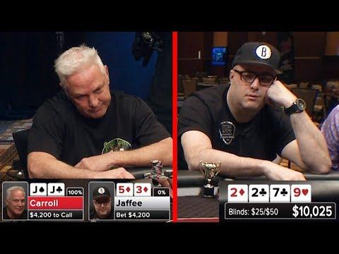 Jared Jaffee's EPIC BLUFF Against Jacks   S5 E21 Poker Night in America