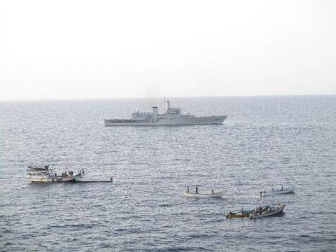Audio Bulletin:Indian Navy foils piracy attempt, rescues Liberian ship in the Gulf of Aden