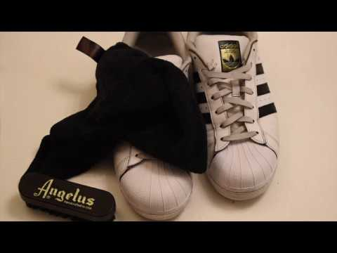 Cleaning Your Sneakers with Angelus Easy Cleaner