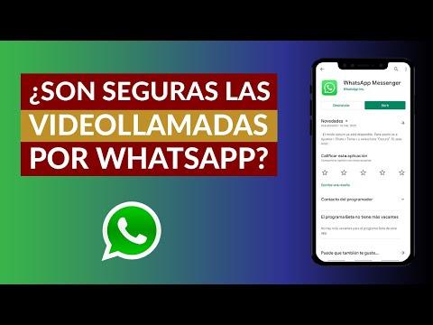 ¿Son Seguras las Videollamadas por WhatsApp?
