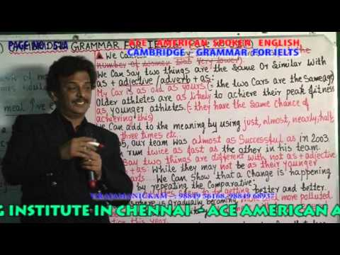 CAMBRIDGE   GRAMMAR FOR IELTS  PAGE NO  051A 056B DVD 8