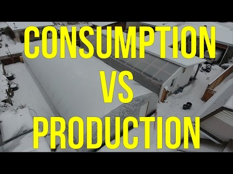 Greenhouse Energy Consumption vs. Production