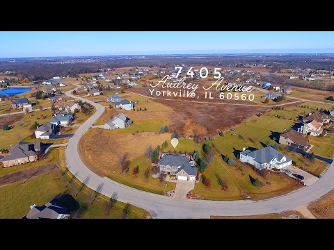 Welcome to 7405 Audrey Ave, Yorkville, IL 60560 | Aerial 4K view