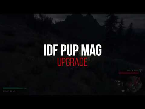 Days Gone | IDF Pup Weapon and Mag Upgrade 1