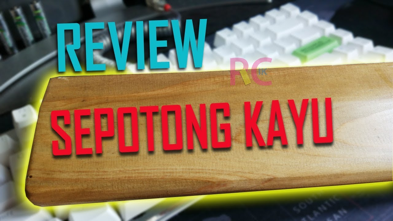 Review Custom Wrist Rest Kayu by WoodyCraft: Cocok untuk Custom Mechanical Keyboard | Magicforce 82