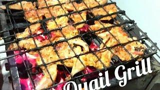 Grilled Quail  Barbecued Quail Recipe