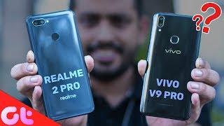 Realme 2 Pro vs Vivo V9 Pro Comparison, Camera, Speed, Design, Battery