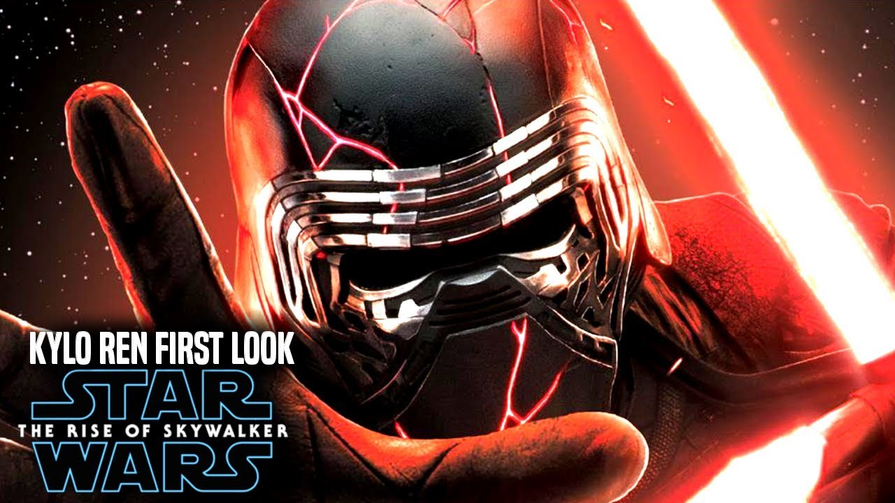 Star Wars The Rise Of Skywalker! First Look At Kylo Ren! (Star ...