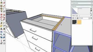 "Sketchup Kitchen Design Dynamic Components ""cabinets"""