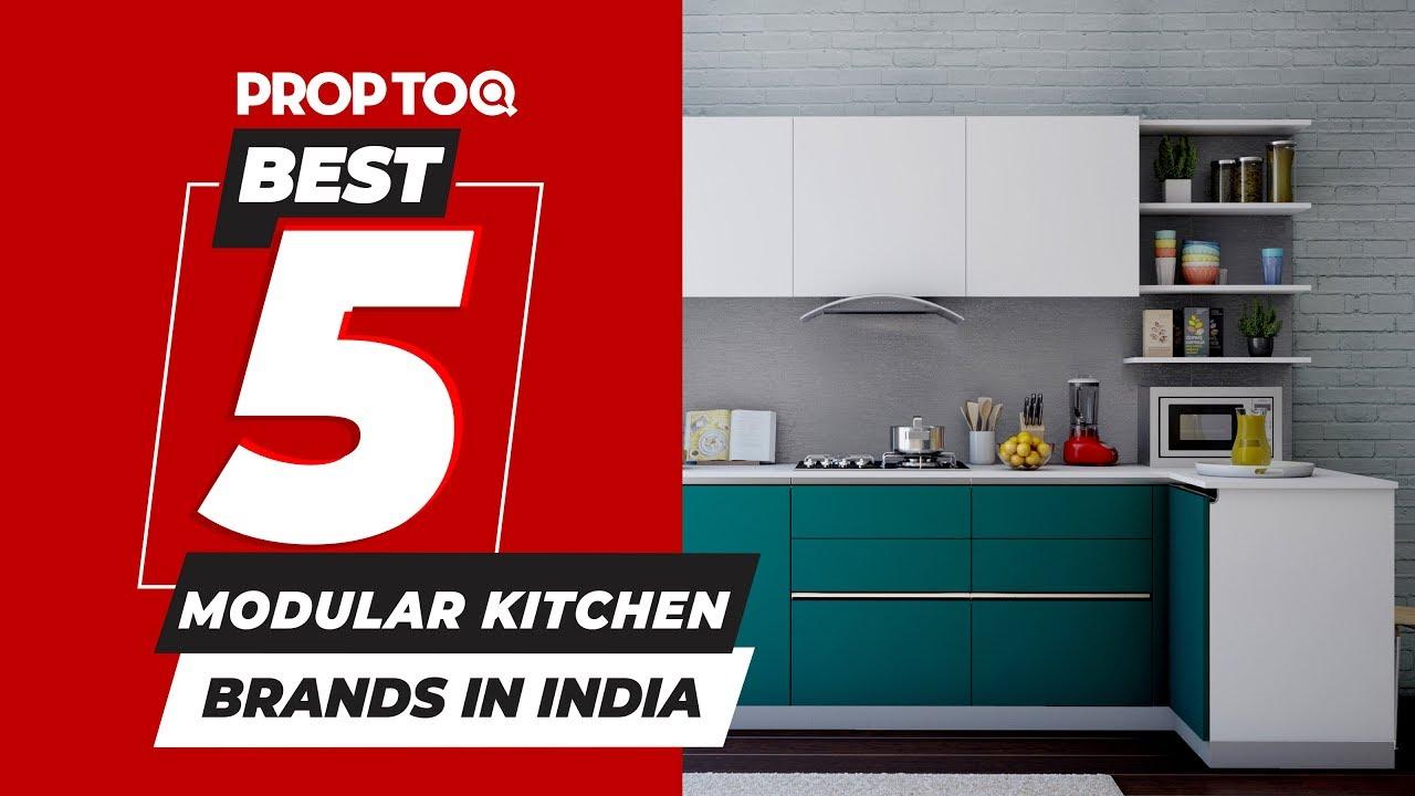 Best 5 Modular Kitchen Brands In India, Best Kitchen Cabinet Brands In India
