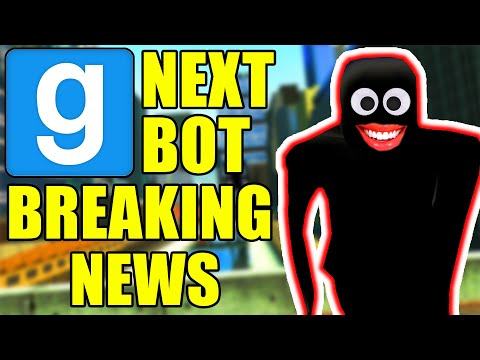 Garry's Mod Next Bot - BREAKING NEWS HAS INVADED THE CITY!   Comedy Gaming