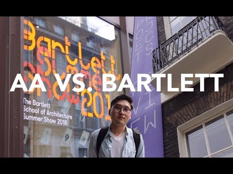 AA Project Review VS. The Bartlett Summer Show | London Vlog