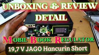 MBR   Unboxing & Review Module Book Regulator   Alat penghancur Short Ampuh