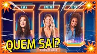 ✂️🔥Enquete: HANA, HARIANY ou RÍZIA? DESCUBRA quem vai SAIR na TERÇA! (05/02/2019) | BBB19