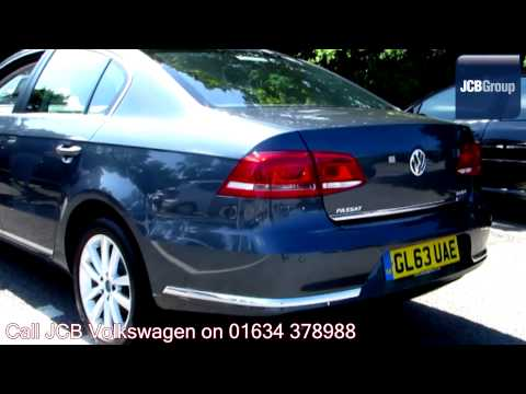 2014 Volkswagen Passat Executive 2l Island Grey Metallic GL63UAE for sale at JCB VW Medway