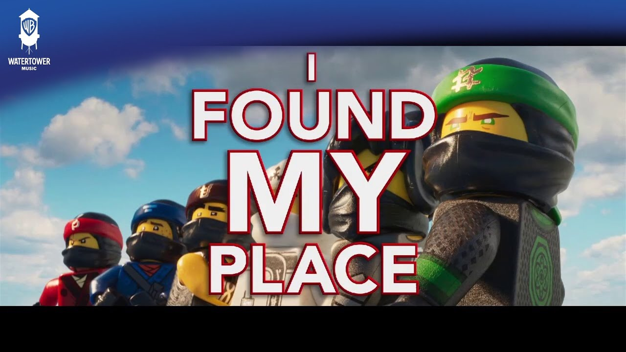 Lego Ninjago - Found My Place - Oh, Hush! feat  Jeff Lewis (Official Lyric  Video)