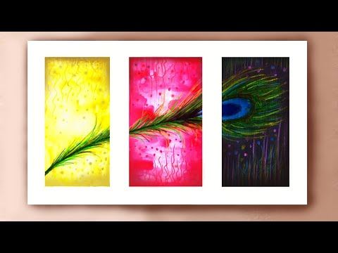 3 easy watercolour painting for beginners, easy watercolor painting ideas for beginners step by step