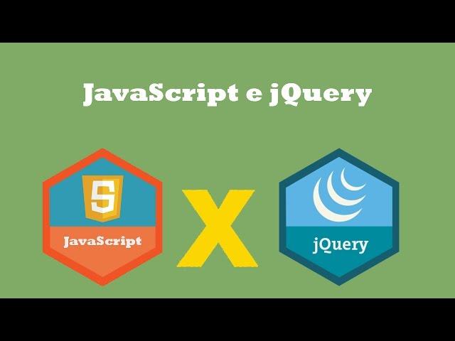 Diferença de JavaScript e jQuery