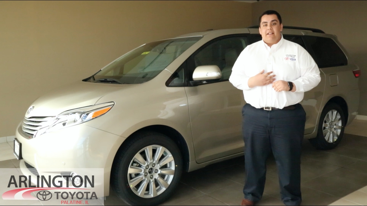 2017 Toyota Sienna Walkaround Español Arlington