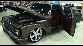 "62 Ford Unibody Pickup  ""Django""  Detroit Autorama 2015"