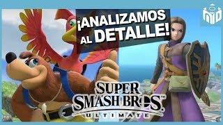 Análisis Banjo y Kazooie y Héroe Dragon Quest Smash Bros Ultimate | N Deluxe