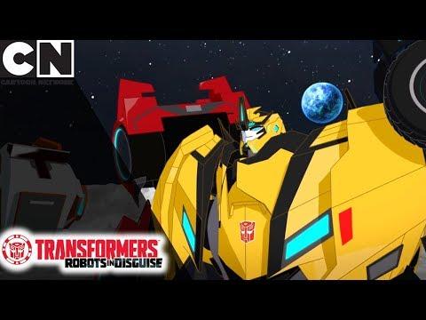 Transformers | Epic Moon Battle | Cartoon Network