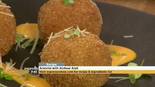 Recipe: Arancini With Atchaar Aioli