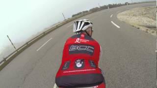 Mont Ventoux Descending October 2014 Bandon Cycling Club