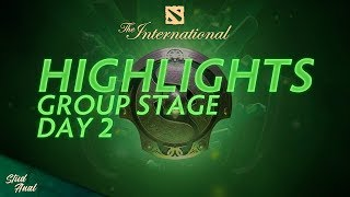 Highlights TI8 Group Stage. Day 2