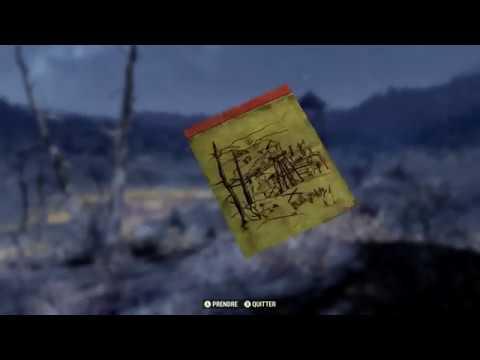 Carte Au Tresor Vallee Toxique.Fallout 76 Carte Au Tresor De La Vallee Toxique N 2
